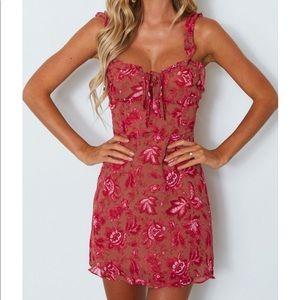 White Fox Boutique Sweet Fling Mini Dress 💗🦋